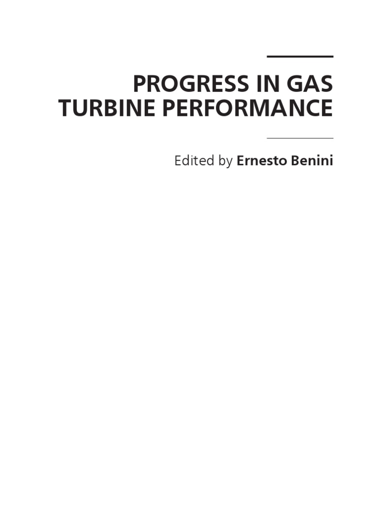 Progress In Gas Turbine Performance Coal Engines Displaying 20gt Images For Free Body Diagram Incline