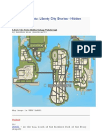 Grand Theft Auto- Hidden Packages Locations