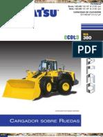 Catalogo Cargador Frontal Wa380 6 Komatsu