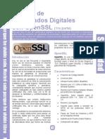 Gestión de Certificados Digitales con OpenSSL