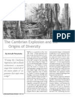 The Cambrian Explosion and the Origins of Diversity