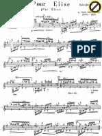 Beethoven - Pour Elise