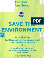 Save the Environment by Harsimran Singh (United Sikhs)