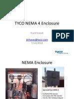 TYCO NEMA 4 Enclosure Field Installation