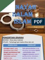 Jenayah Dalam Islam