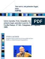Yves Lacoste - 2012