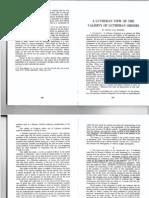 The Validity of Lutheran Orders - Piepkorn