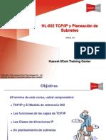 HL-002 TCP IP y Planeacion de Subneteo Review(V5.0)