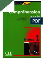 Comprehension Orale 1