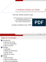 Introducció́n a Interfaces Gráficas con Zenity
