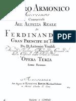 Vivaldi - Concerto No9 for Violin CelloBC