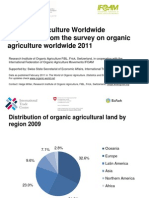 Organic Agriculture Worldwide-2009