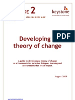 4. 2 Developing a Theory of Change