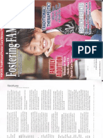 "Foster Families Today Magazine- ""Addressing Investigations Of Allegations Of Foster Parent Maltreatment"""