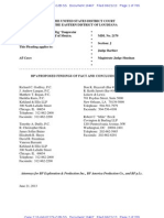 BP's Proposed Findings - Combined File
