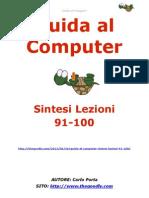 Guida al Computer - Sintesi Lezioni 91-100
