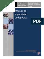 Manual de Supervision Pedagogica Disde