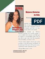 Mujeres Historias de Vida Martha Gentz homenaje a mi Peru y mi familia.