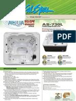 Cal Spas Aqua Select AS730L Hot Tub