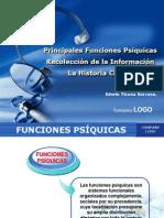 Seminario 2 - Principales Funciones Psíquicas, recolección de la información, historia clínica y síndromes psiquiátricos