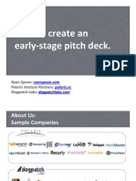 How to Create an Early-Stage Pitch Deck for Investors
