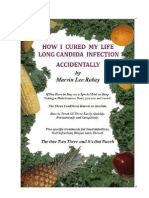 How I Cured My Life Long Candida Infection Accidentally