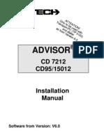 Aritech CD7212 Install