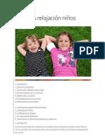 Técnicas relajación niños