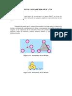 Estructura Molecular de Silicatos