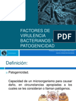 Factores de Virulencia Bacterianos y Patogenicidad (1)