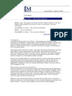 Contrary Indicators 2000 – 2003 Bear