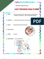 PROGRAMA EDUCATIVO-Internas de Enfermería-Neonatología