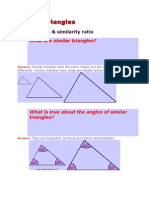 Similar Triangles - Sample problems.doc