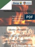 Comportamento de Liquidos y Solidos en Un Incendio
