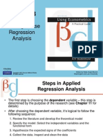 six steps in regression analysis by hasan nagra econometrics sir atif notes