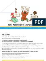 You Your Rights and Bussines