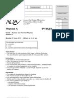 Aqa Phya5 1 w Qp Jun11