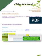 Cuadro periódico constructivista  - U2CVT1 - Areli