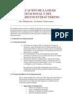 3.Evaluacion de Edad Gestacional y Del Creciemiento Intrauterino