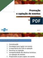 SEBRAE PB 2013 Promocao e Captacao Em Eventos Aluno