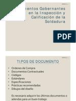 Documentación inspección CR