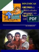 TÉCNICAS DE DINÁMICAS DE GRUPO - CHARLA CATEQUISTAS JAÉN
