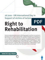 26th June - Right to Rehabilitation