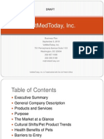 VETMEDTODAY business plan overview