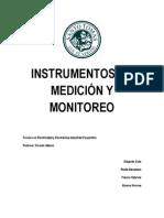 INSTRUMENTOS DE MEDICIÓN Y MONITOREO