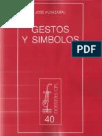 Aldazabal, Jose - Gestos y Simbolos