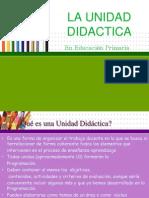 cómo elaborar unidad didáctica para primaria