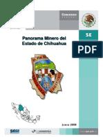 Panorama Minero de Chihuahua