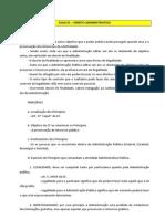 AULA 01 – DIREITO ADMINISTRATIVO