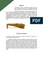 Marimba Formas de Danza